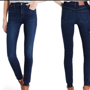 MADEWELL Mid-rise Skinny Jeans, Size 27